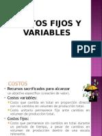 Ppts Costos Fijos y Variables
