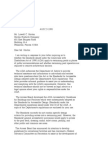 US Department of Justice Civil Rights Division - Letter - tal377