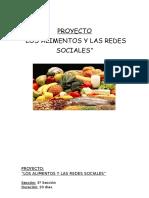 Las Redes Sociales y Los Alimentos