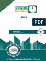 Inss Banca Cebraspe Cespe Nocoes de Informatica Tecnico Do Seguro Social Aula INAUGURAL (2)