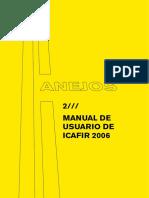 Programa ICAFIR 2006 Manual Del Usuario