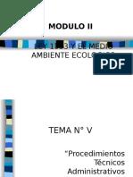 Procedimientos Tecnico Administrativo Para La Licencia Ambiental