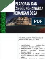 SPB 4.5. PELAPORAN KEUANGAN DESA.ppt