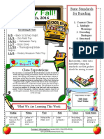 roth back to school newsletter