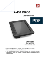 X-431 Pro3 User Manual