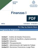 Finanzas I (Introduccion)
