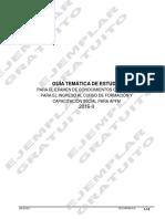 Guia de Estudio Exam de Cono Grales APFM
