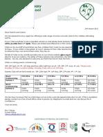 Club Summer Term Courses Details