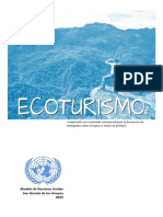 Ecoturismo o Turismo Sostenible