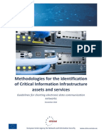Methodologies for the Identification of Critical Information Infrastructure Assets and Services