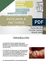 Periodontitis Asociada a Factores Sistemicos