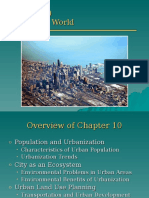 Lecture - Chapter 10 - The Urban World