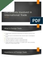 Module III - Documents Involved in International Trade
