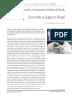 Entrevista Rinesi_Filo-Depto de Letras