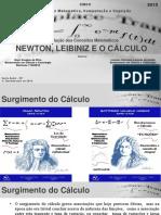 Newton, Leibniz e o Cálculo - Apresentação