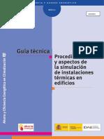 1_Procedimientos y Aspectos de La Simulacion de Instalaciones Termicas en Edificios