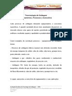 Terminoligia Equipamentos Processos e Acessorios