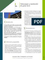 Telescopaje y mantencion grua torre.PDF