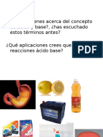 Ácidos y Bases