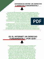 Internet Derecho Fundamental