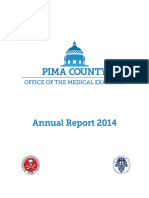 Pima County Office of the Medical Examiner's 2014 Report