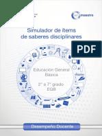 Simulador para la evaluación docenteEGB2-7