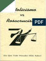 Catolicismo vs Rosacrucismo