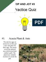 symbiosis practice quiz
