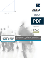 Valuing Your Talent