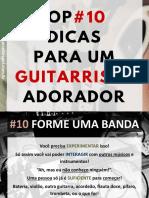 Top 10 Dicas Para Um Guitarrista Adorador