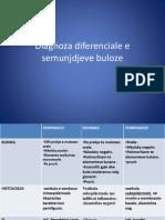 Diagnoza Diferenciale e Semunjdjeve Buloze