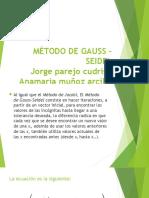 Método de Gauss – Seidel
