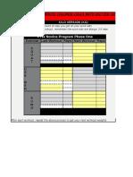PTW Novice Program Workout Calculator KG Version1.3