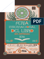 Cartelera FILA 2016