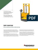 EJC 110 112 Data Sheet