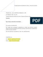 Carta Aceptación COAMTRA 2da Addenda (6.8.15)