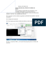 Manual de Grass Gis
