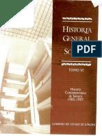 127407789 Historia General de Sonora Tomo VI Historia Contemporanea de Sonora 1985 1997