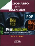 Diccionario para ingenieros inglés - español