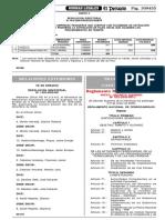 Anexo DS N° 032-2005-MTC Reglamento de Ferrocarriles