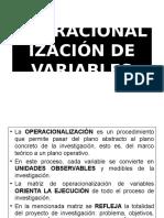 Operalizacion de Variables 2
