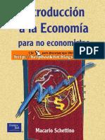 Introduccion a La Economia Para No Econo
