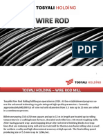 Tosyali Holding-wire Rod