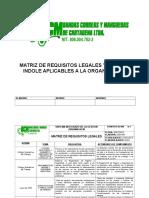 MATRIZ DE REQUISITOS LEGALES 45.doc
