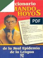 Diccionario de La Real Epidemia de La Lengua