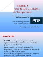 Parte 3 - Diagrama de Red y Datos Tiempo-Costo