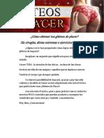 Gluteos De Placer PDF GRATIS