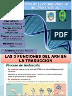 3 Funciones Del ARN - CORREGIDO