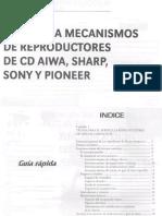 Puesta a Punto de Mecanismo de CD Aiwa,Sharp,Sony y Pionner
