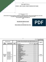 Centralizator 2010 Discipline Tehnologice Pregatire Instruire Practica